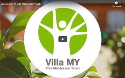 Se filmen – Välkommen till Villa Montessori Ystad!